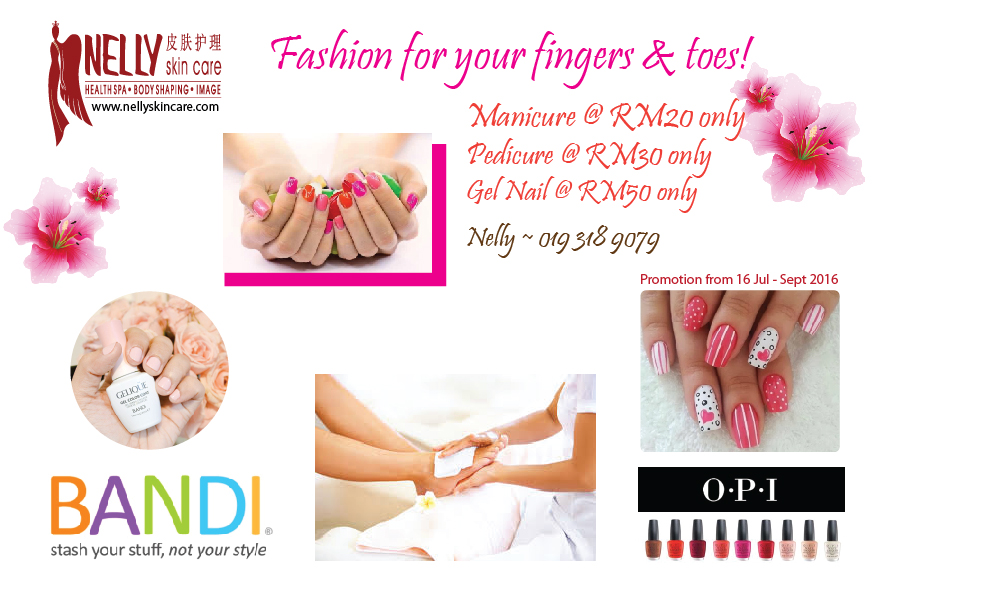 Manicure & Pedicure - Aug 2016