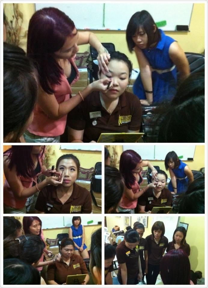 Elaine Leong makeup training2