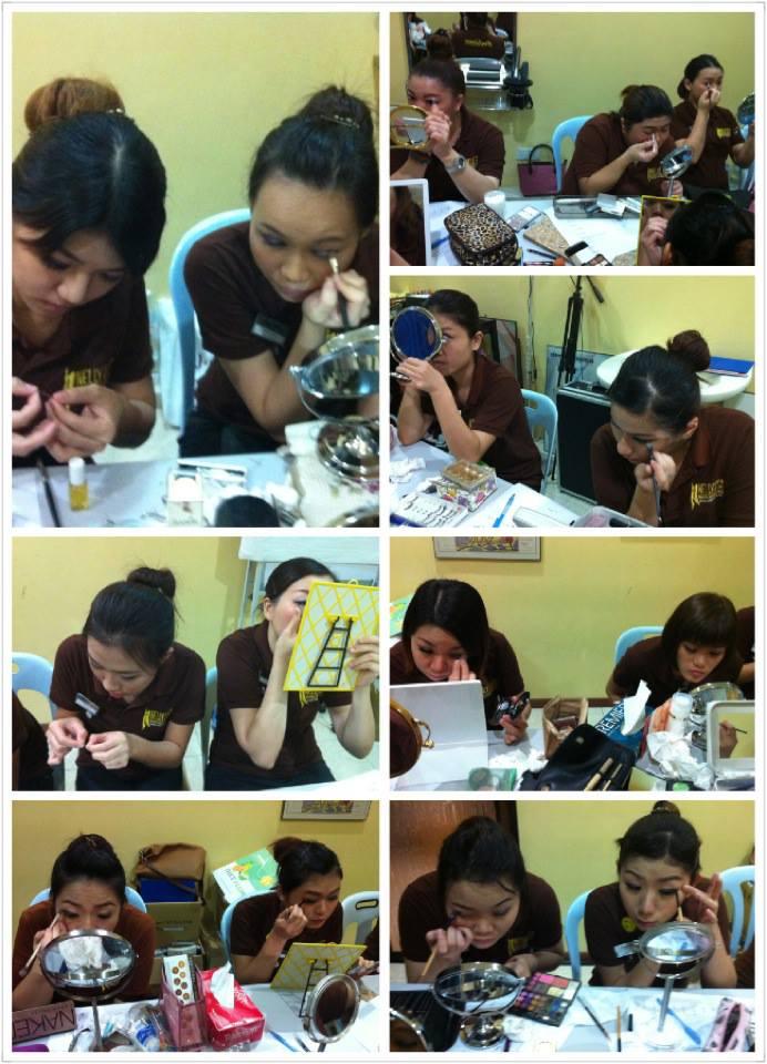 Elaine Leong makeup training3