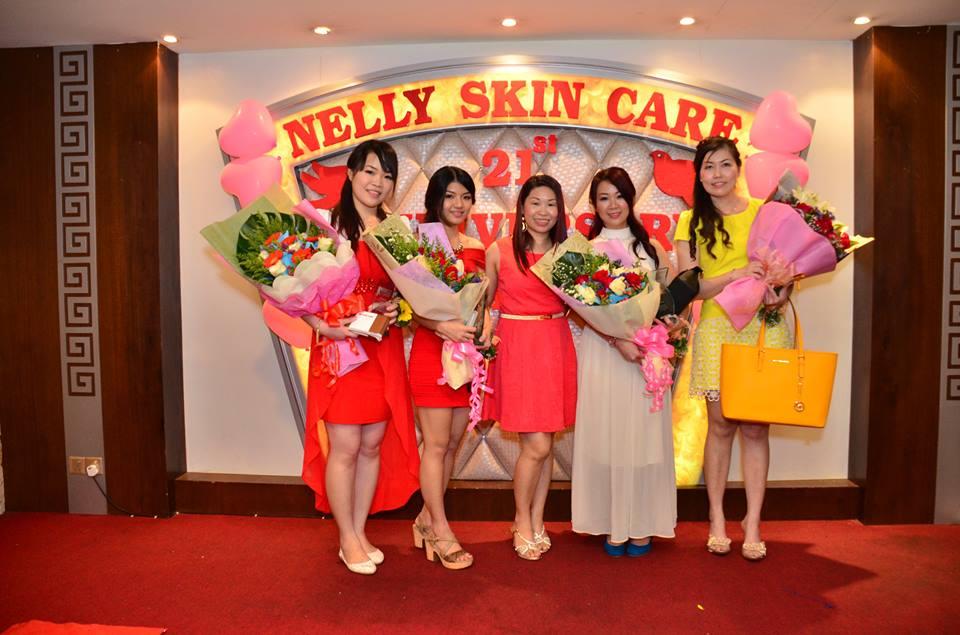 Nelly Skincare 表现卓越的优秀职员奖项